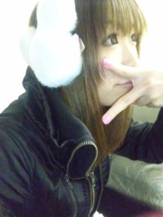 渋木美沙 公式ブログ/☆ふわふわ耳あて☆ 画像1