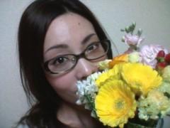 中岡晴子 公式ブログ/お花もらいました♪ 画像1