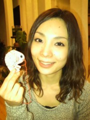中岡晴子 公式ブログ/遅い初詣 画像1