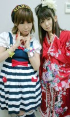 城所葵 公式ブログ/L・Peaceライブ♪工藤マミさん 画像1
