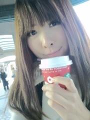 城所葵 公式ブログ/カプチーノ(^_^)v 画像1
