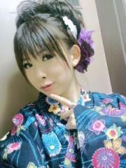 城所葵 公式ブログ/五部・紺浴衣でせくしー 画像3