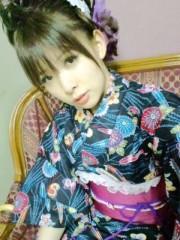 城所葵 公式ブログ/五部・紺浴衣でせくしー 画像1