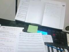 城所葵 公式ブログ/音楽制作デー 画像1