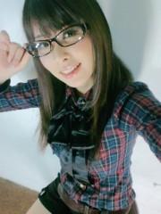 城所葵 公式ブログ/本日のメガネアオーイ 画像1