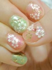 城所葵 公式ブログ/桜咲く。 画像1