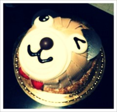 ほんまかよこ 公式ブログ/くまたんケーキ(゜ω゜) 画像2
