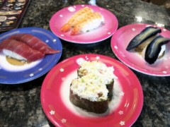 ほんまかよこ 公式ブログ/Revolving sushi! 画像2