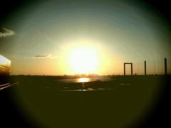 ほんまかよこ 公式ブログ/秋の夕陽と 画像1