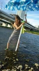 音羽七美 公式ブログ/川の中で 画像1