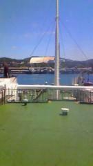 音羽七美 公式ブログ/船で 画像1