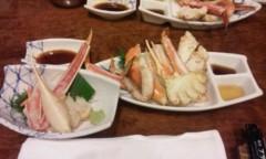音羽七美 公式ブログ/蟹たべいこー 画像1