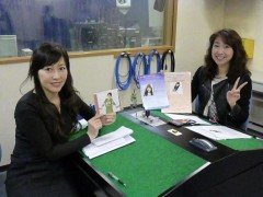 宇都美慶子 公式ブログ/FM三重「アワージェネレーション」の収録 画像1