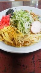 大友典子 公式ブログ/冷やし中華…食べました。 画像1