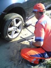 大友典子 公式ブログ/車のタイヤが… 画像1