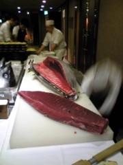 大友典子 公式ブログ/マグロの解体ショー 画像2