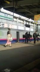 大友典子 公式ブログ/新幹線で 画像1