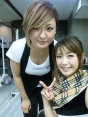 落合愛美 公式ブログ/ヘアメイク中なう 画像2