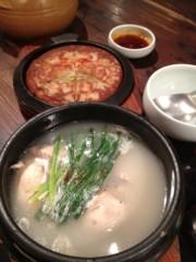 アントニオ小猪木 公式ブログ/参鶏湯とジョン 画像1