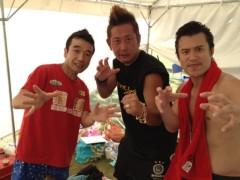 アントニオ小猪木 公式ブログ/秋田イベント三人衆! 画像1