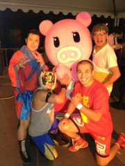アントニオ小猪木 公式ブログ/TBS『Nスタ』N天登場! 画像1