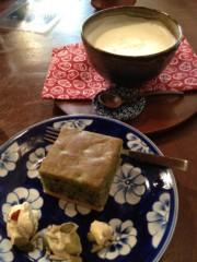 アントニオ小猪木 公式ブログ/豆乳葛生姜と小豆桑茶ケーキ 画像1