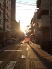 アントニオ小猪木 公式ブログ/三ノ宮の夕焼け 画像1