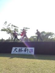 アントニオ小猪木 公式ブログ/女子高生バックダンサーと 画像1