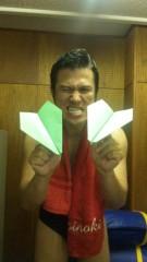 アントニオ小猪木 公式ブログ/羽ばたけ紙飛行機 画像1