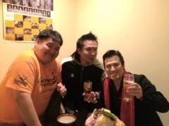 アントニオ小猪木 公式ブログ/若翔洋さんらと写真! 画像1