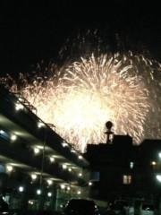 アントニオ小猪木 公式ブログ/上野毛で花火 画像1