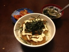 アントニオ小猪木 公式ブログ/アジフライ丼を作った 画像1