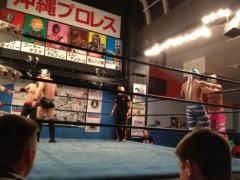 アントニオ小猪木 公式ブログ/沖縄で沖縄プロレス観戦! 画像1