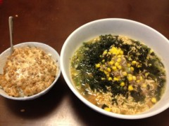 アントニオ小猪木 公式ブログ/納豆と味噌ラーメン 画像1