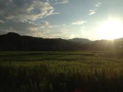 アントニオ小猪木 公式ブログ/八高線の夕焼け 画像1