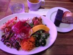 アントニオ小猪木 公式ブログ/打合せで食べたサラダ 画像1