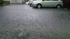 アントニオ小猪木 公式ブログ/嵐の大雨 画像1