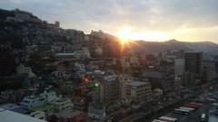 アントニオ小猪木 公式ブログ/長崎の朝日 画像1