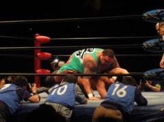 アントニオ小猪木 公式ブログ/三冠挑戦者曙! 画像1