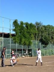 アントニオ小猪木 公式ブログ/久々真夏の草野球 画像1
