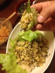 アントニオ小猪木 公式ブログ/巻いて食べる 画像1