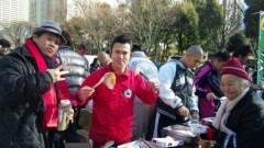 アントニオ小猪木 公式ブログ/猪木炊き出し2010 画像1
