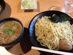 アントニオ小猪木 公式ブログ/つけ麺雀夕陽丘店のつけ麺 画像1