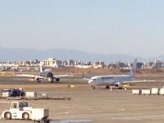 アントニオ小猪木 公式ブログ/飛行機で徳島へ 画像1