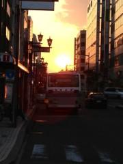 アントニオ小猪木 公式ブログ/土浦の夕焼け空 画像1