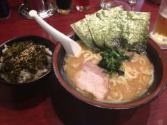 アントニオ小猪木 公式ブログ/ラーメンと高菜ごはん 画像1
