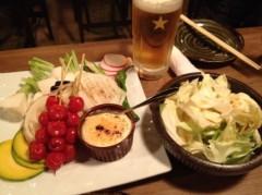 アントニオ小猪木 公式ブログ/打ち上げは野菜料理! 画像1