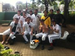 アントニオ小猪木 公式ブログ/無事に野球終了! 画像1
