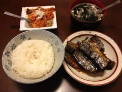 アントニオ小猪木 公式ブログ/サンマの朝食 画像1