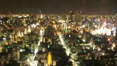 アントニオ小猪木 公式ブログ/心斎橋の夜景 画像1